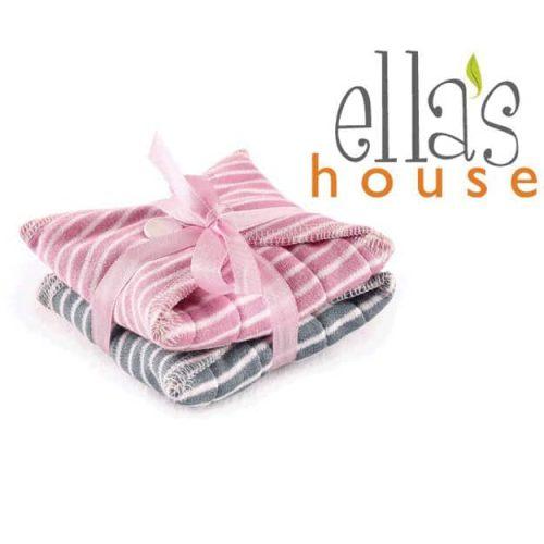 Ella's House maandverband gestreept met strik